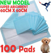 100pcs 60x60cm New Puppy Pet Dog Indoor Cat Toilet Training Pads Super Absorbent