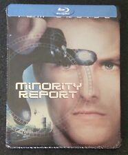 MINORITY REPORT Blu-Ray SteelBook Best Buy Exclusive New OOP Rare