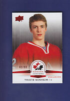 Travis Sanheim 2014-15 UD Hockey Team Canada Juniors Exclusives 02/99 #126