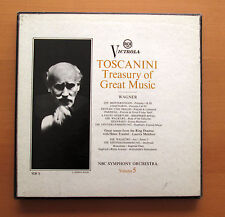 RCA VCM 5 Toscanini Treasury Of Great Music Vol. 5 Wagner 4xLP Mono NM/EX