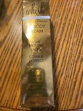 Whish Cc Body Cream, Coconut Milk + Verbena, Light Bronzed Glow(New)