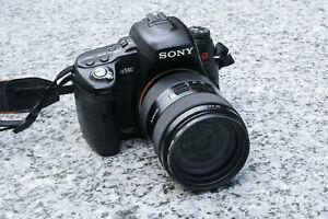 Sony Alpha 580 mit Objektiv Sony 16-105 3.5-5.6