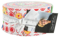 "Moda Feed Sacks Red Rover Jelly Roll 2.5"" Precut Fabric Strips 23310JR, J03"