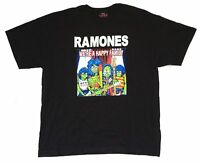 Ramones We're A Happy Family Black T Shirt New Official Band Merch Album Art