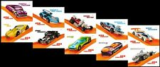 US 5321-5330 5330a Hot Wheels forever block set (10 stamps) MNH 2018