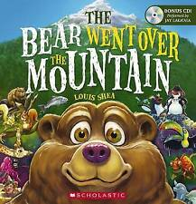 THE BEAR WENT OVER THE MOUNTAIN Louis Shea Paperback + CD Included Free Post