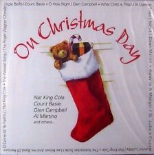 On Christmas Day (New CD) Music - King Cole Martino Martin Crosby Bassie *SEALED