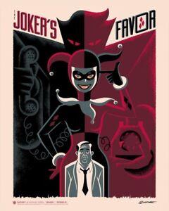 "George Caltsoudas ""Batman: The Animated Series - S1 E22"" Bottleneck Print"