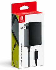 Nintendo Switch Official Licensed Charging AC Adapter 100V Plug Type:A New I