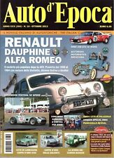 10 2013  AUTO D'EPOCA - RENAULT DAUPHINE - DINO 308 GT4/LM - CAMION BIANCHI