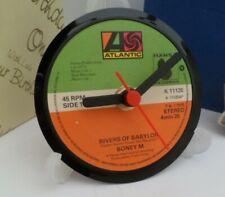 *new* BONEY M (Band) vinyl record CLOCK An actual vinyl record