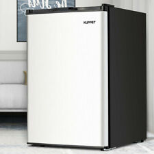 4.6 CU.FT. Mini Refrigerator Compact Fridge Freezer Cooler Stainless Steel Home