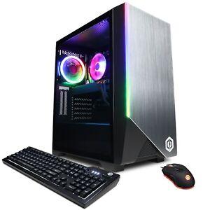NEW CYBERPOWER AMD Ryzen 7 3700X 3.6GHz 16GB DDR4, RTX 3060 12GB 240SSD 1TBHD