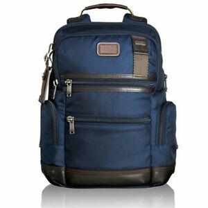 "Tumi Alpha Bravo ""Knox"" Backpack – Hickory – 222681HK2 Hickory Blue"