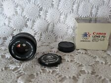 CANON FD 50/1.8 Lens Open Box 50 1.8 Official 1984 Olympic Games Lens In Box