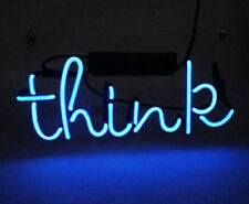 "New Think Lamp Beer Bar Artwork Acrylic Neon Light Sign 14"""