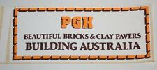 Retro Sticker -  PGH Beautiful Bricks & Clay Pavers - Building Australia
