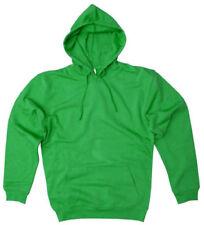 Sudaderas de hombre verde sin marca de poliéster