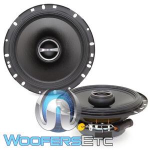"ALPINE S-S65 6.5"" CAR AUDIO 240W 2-WAY SILK TWEETERS 6 1/2"" COAXIAL SPEAKERS NEW"