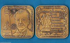 SALVADOR BRAU Historiador PUERTO RICO 1842 - 1912 Cabo Rojo BRONCE 65mm HUGE !