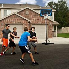 Portable Basketball System Adjustable Backboard Hoops Goals Outdoor Academy NBA