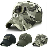 9f8a0392f50344 Men Boys Camo Military Army Baseball Cap Tactical Summer Sports Hats  Adjustable