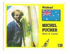 Vintage Portugese Golden Idols Sticker Aussie Speed Windsurfer Michael Pucher