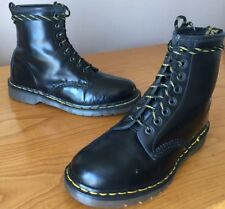 Vintage Dr Martens 1460 black leather boots UK 7 EU 41 Made in England