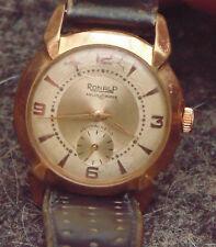 rare ancienne montre RONALP mouvement mecanique vendu son etat fonctionne 17 rub
