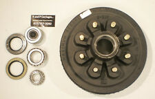 "Dexter Trailer Brake Drum 12"" x 2"", 9/16"" Stud, 8x6.5 Lug 7000# Axle USA MADE"
