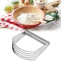 Pastry Dough Cutter Blender Mixer Whisk Baking Kitchen Tool Stainless Steel N2Y7