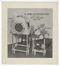c1910 Illustrated Brochure, The Janeway-Green Respiration Cabinet
