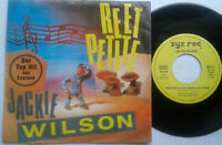 """Jackie Wilson / Reet Petite / You Brought About A Change ... 7"""" Single Vinyl 86"""
