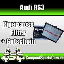 AUDI RS3 340PS |2.5 Turbo| Pipercross Sportluftfilter/Tauschfilter ÖLFREI