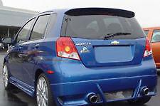 Chevrolet Aveo Hatchback Rear Wing Spoiler Primed 2007-2011 OE Style JSP 353001