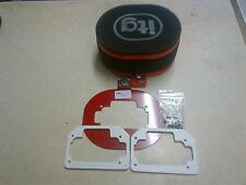 ITG AIR FILTER WEBER 32/36 DCD JC20/65 WITH 3JC20 BASEPLATE, Stockcar Brisca