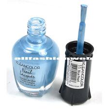 1 Kleancolor Nail Polish Lacquer #11 Blue Pearl Manicure Pedicure