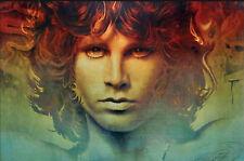 Jim Morrison The Doors Music Group Art Poster Print 36X24 (91.5X61cm)
