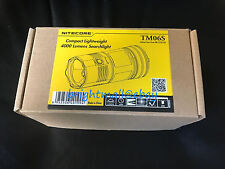 BRAND NEW NITECORE TM06S 4000 LUMENS FLASHLIGHT [TM06S, TM26, TM15]