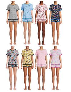 2-Piece Secret Treasures Women's and Women's Plus Knit Shorty Pajama Set