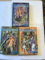 Ral Grad Manga 1, 2 & 3 Action Viz MINT OOP