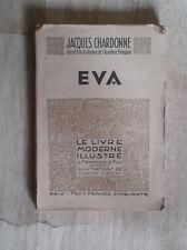 CHARDONNE Jacques. Eva. ill. Clément Cerveau. Le Livre Moderne Illustré. 1935.