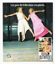 PUBLICITE ADVERTISING 126  1978   chaussures femme escarpins JB Martin