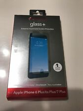 Apple iPhone 7 6s 6 Plus ZAGG GLASS+ Screen Protector invisibleSHIELD