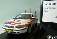 WOW EXTREMELY RARE Volvo V70 MkII Break 2.5 Turbo Dutch Police 1:43 Minichamps