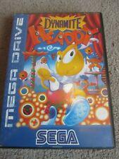 Sega Mega Drive Juego en Caja Dynamite Headdy