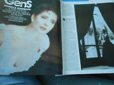 Clipping Article Presse 1994  Isabella Rossellini  ( 6 pages )