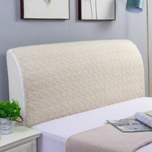 Headboard Slipcover Delicate Flower Pattern Breathable Protector Cover Dustproof