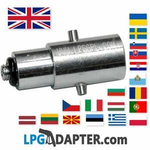 LPG GPL FILLING POINT  Dish to Bayonet --> UK M10 LPG Propane Autogas adaptor