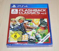 NEW Atari Flashback Classics Vol 2  Game PS4 Playstation 4 UK  Pal